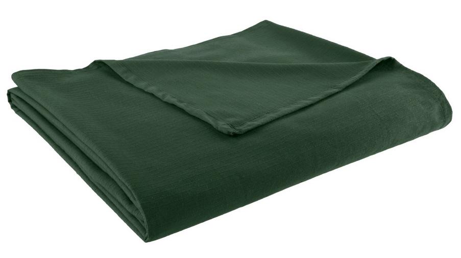 dark green quilt