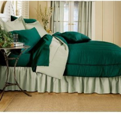 Dark Green Bedspread Choozone