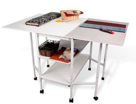 Folding Cutting Table Great Norwood Commercial Furniture