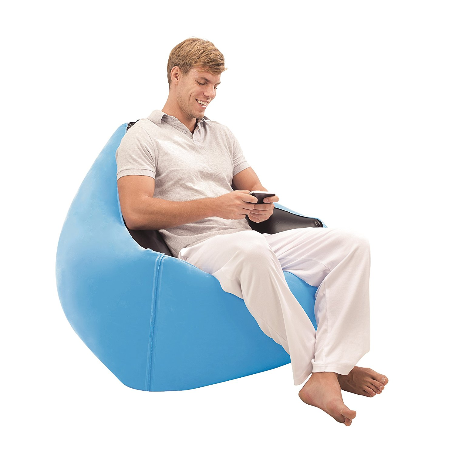 Bestway Moda Inflatable Chair, Blue