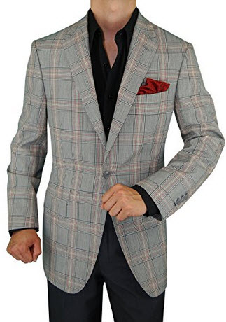 9d294e83008 Pictured above  1- Salvatore Exte Men s 2 Button Suit Separate Jacket Sport  Coat Blazer 2- Orvis Lightweight Highland Tweed Sport Coat   Regular 3-  Michael ...