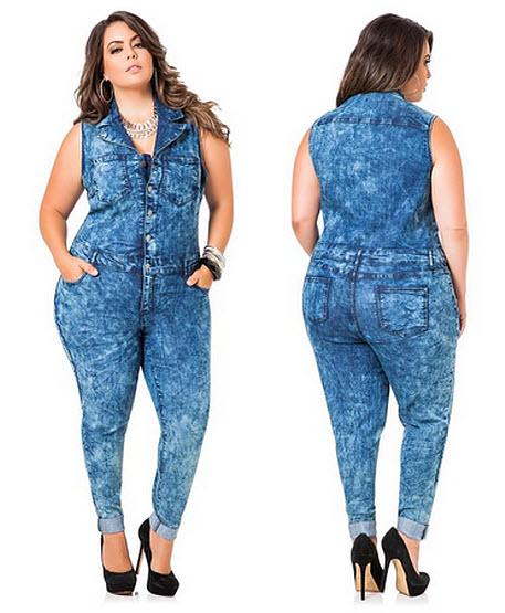 plus-size denim jumpsuits – choozone