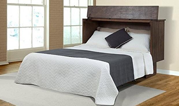 Queen Murphy bed cabinet