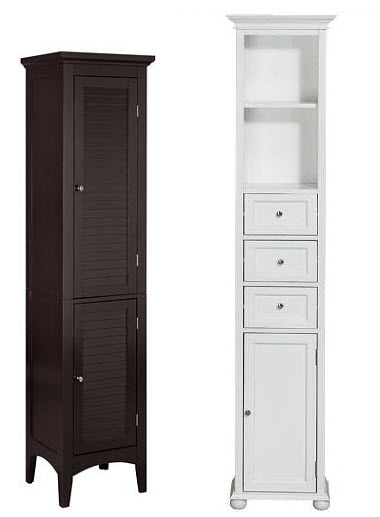 Slim Storage Cabinet By Lcl Home Decor