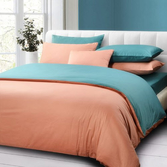 Turquoise and coral bedding – ChoozOne