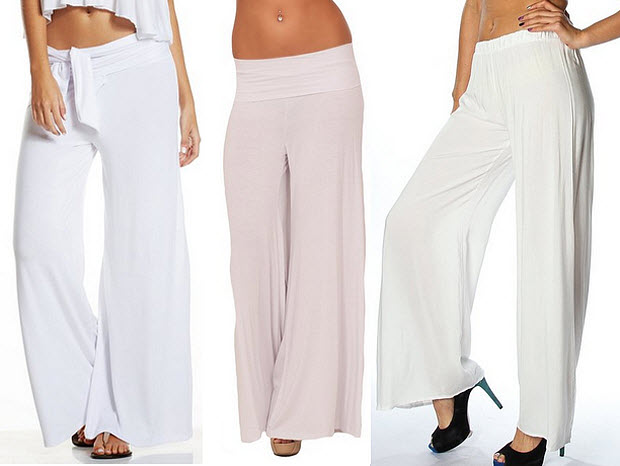 e637188d933 White Plus Size Palazzo Pants - Best Style Pants Man And Woman