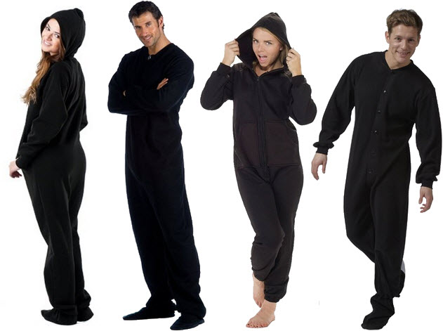 black adult onesie