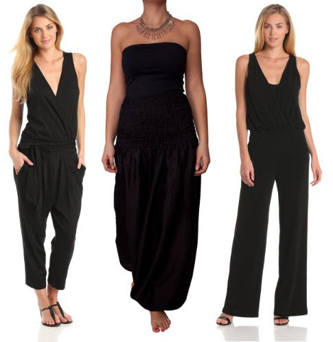 Black Jumpsuit Womens Photo Album - Reikian