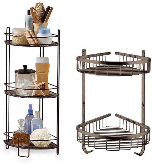 bronze corner shower caddy – ChoozOne