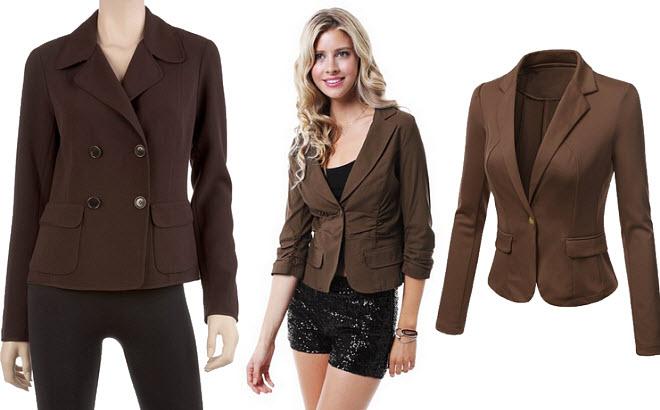 Brown blazers for women – ChoozOne