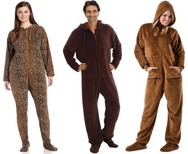 Staying in bed? That's the perfect time to wear our high quality Brown Sugar Footie Pajamas. Shop our extensive collection of comfy Brown Sugar Footie Pajamas in a wide variety of styles that allow you to wear your passion around the house.