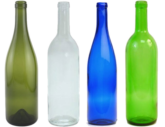 Empty glass wine bottles choozone for What can i make with empty wine bottles