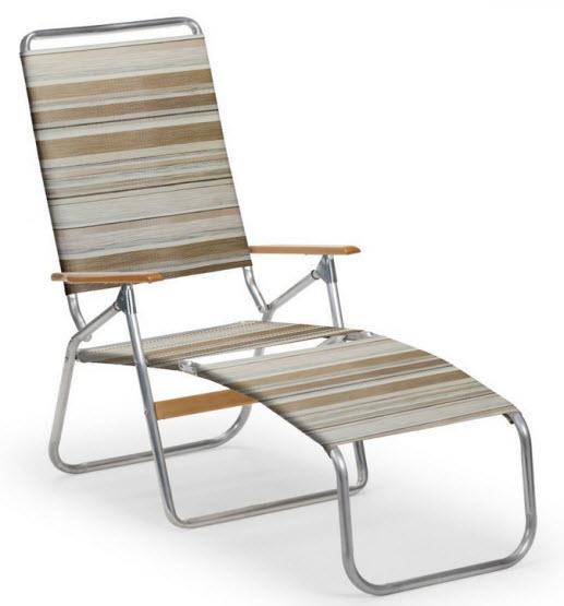 folding beach lounge chair – Chooz e
