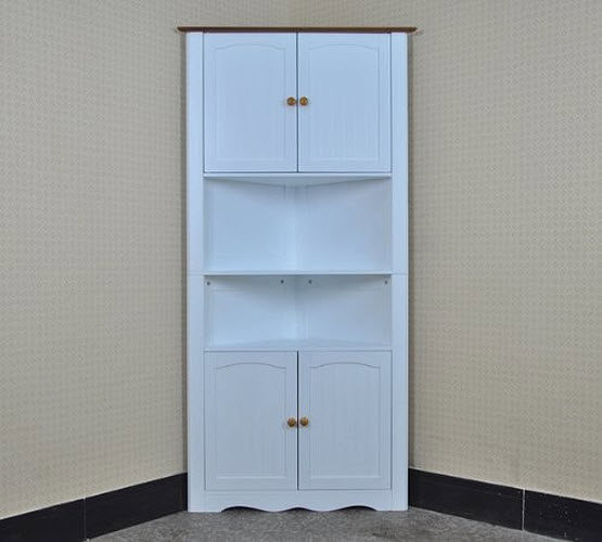 Pantry Cabinet Pantry Corner Cabinet With Degree Tall