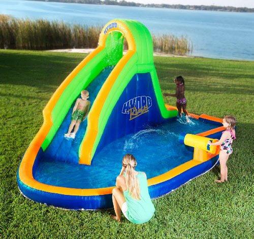 garden water slide choozone. Black Bedroom Furniture Sets. Home Design Ideas