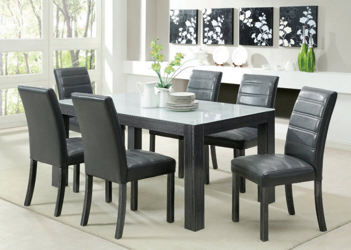 grey dining room set choozone