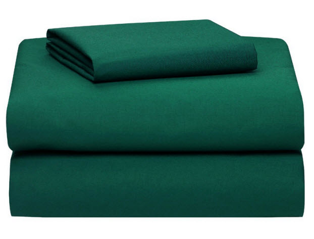 Etonnant Hunter Green Bed Sheets
