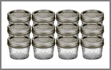 jelly jars with lids