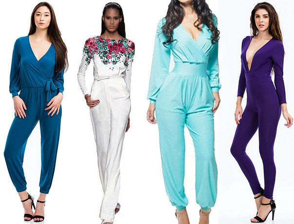 Womens Jumpsuit With Sleeves | Fashion Ql