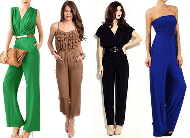 Images of Womens Dressy Jumpsuits - Reikian