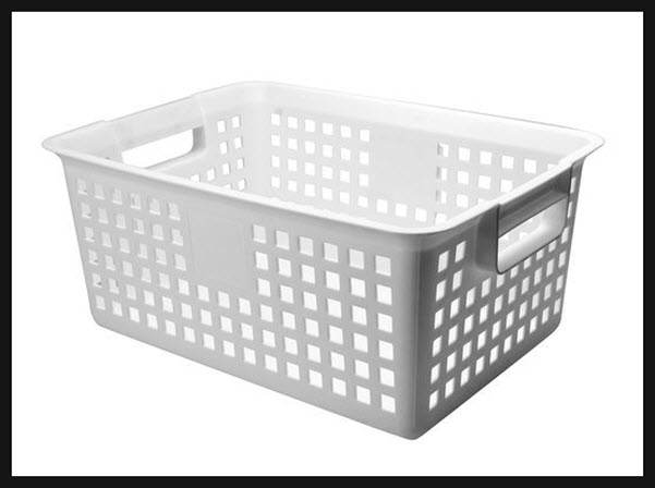 Large Plastic Laundry Basket Choozone