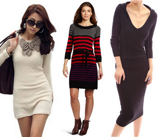 Long sweater dresses for women – ChoozOne