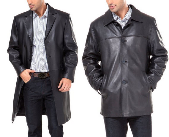 Leather car coat mens – Fashionable jacket 2017 photo blog