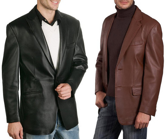 Mens leather sport coat – ChoozOne