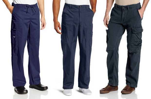 Mens navy blue cargo pants – ChoozOne