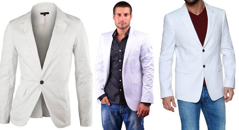 Mens white sport coat – ChoozOne