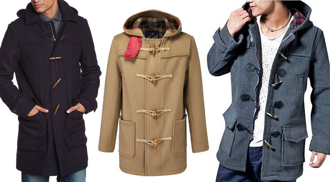 mens wool duffle coat – ChoozOne