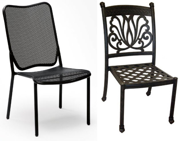 metal outdoor dining chairs – Chooz e