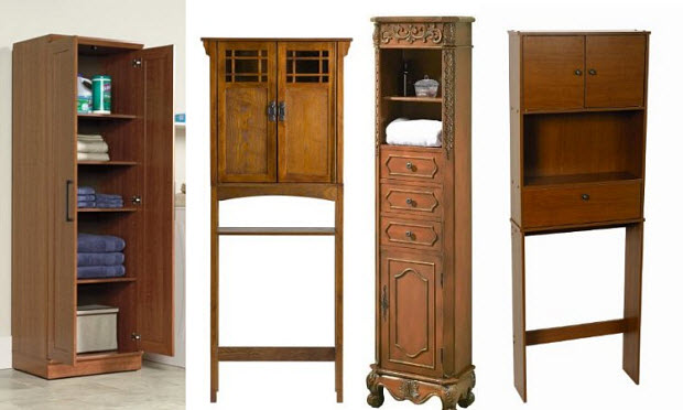 Oak bathroom storage cabinets – ChoozOne