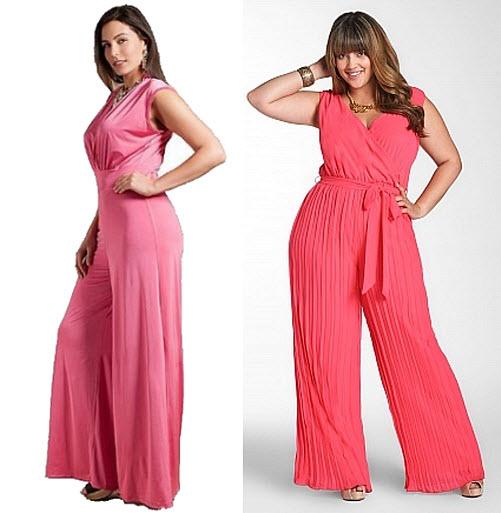 2c7a507f4696 Pink plus-size jumpsuit – ChoozOne