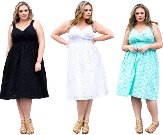 Plus-size cotton summer dresses – ChoozOne