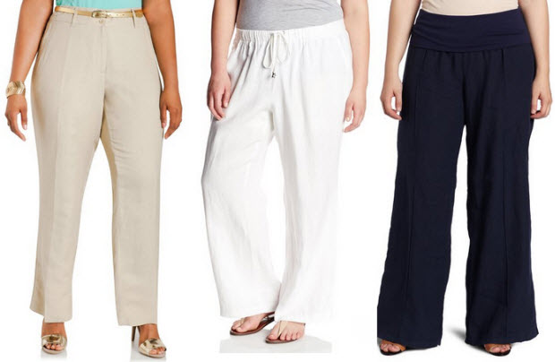 Drawstring Linen Pants Plus Size Plus Size Wide Leg Linen Pants