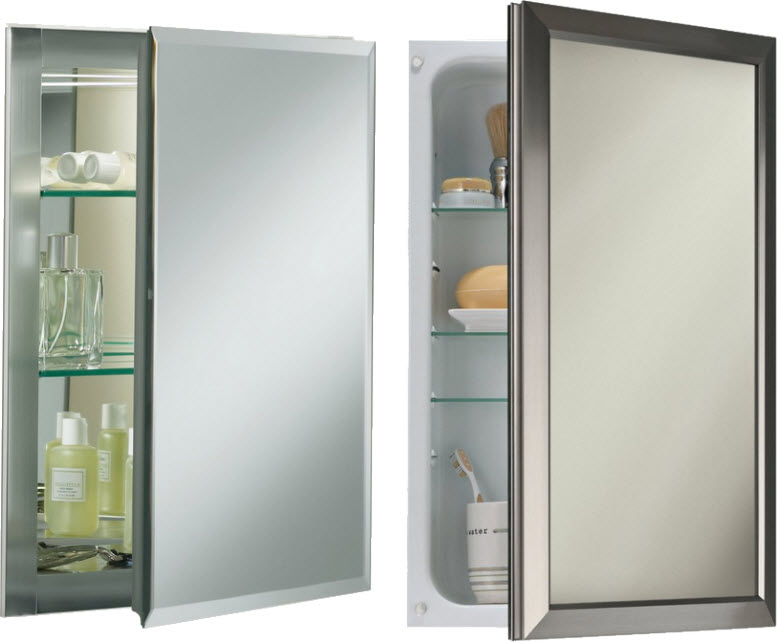 Recessed Medicine Cabinets With Mirror