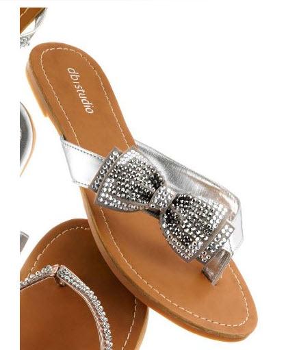 ed51c6ebefa Silver flip flops for bridesmaids – ChoozOne