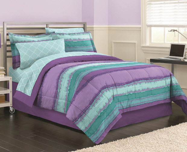Teal And Purple Bedding Choozone