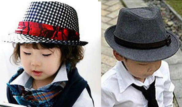 a4945d994638e Toddler fedora hats for boys   girls – ChoozOne