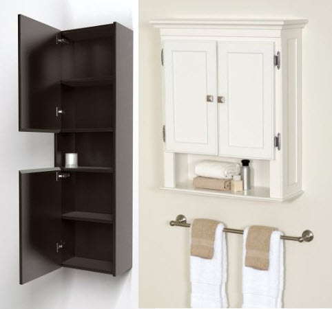 Superieur Wall Mounted Bathroom Storage Cabinets