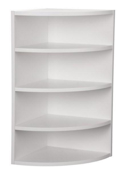 white corner shelving unit choozone. Black Bedroom Furniture Sets. Home Design Ideas