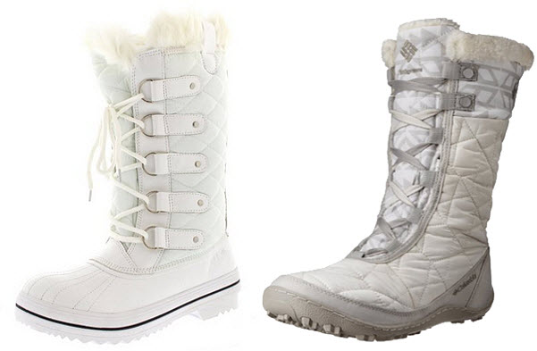 White snow boots for women – ChoozOne