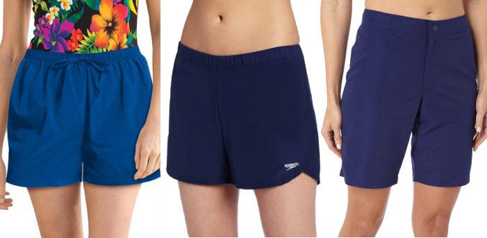 Womens blue swim shorts – ChoozOne 69d62ce9da