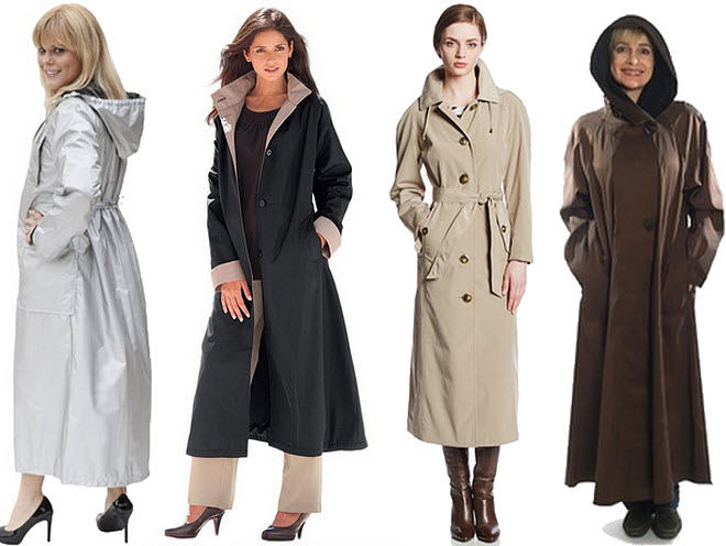 Collection Women S Waterproof Trench Coat With Hood Pictures - Reikian