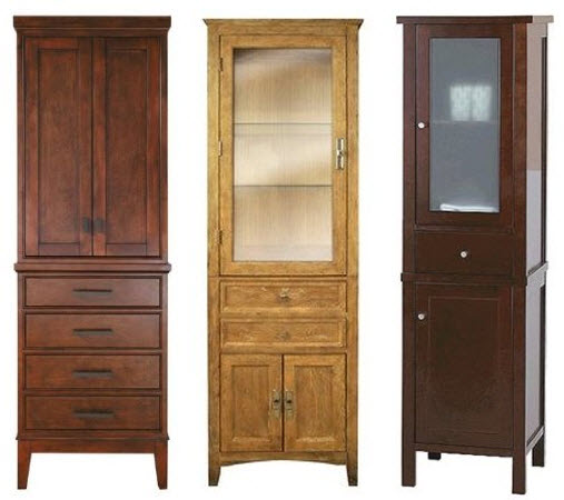 wood bathroom storage cabinets choozone
