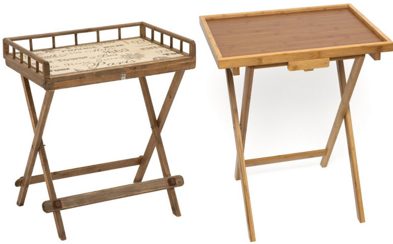 wooden folding tray tables. Wooden folding tray tables   ChoozOne